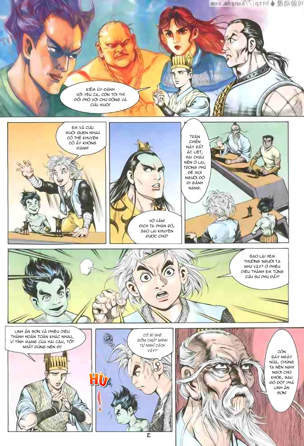 Cơ Phát Khai Chu Bản chapter 79 trang 3