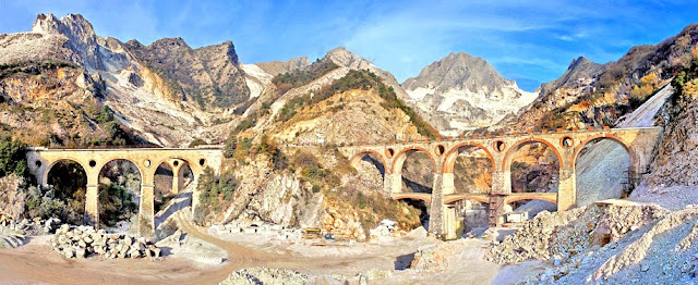Cave di Carrara en La Toscana, Italia