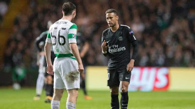 Neymar showed lack of humility with Celtic's Anthony Ralston
