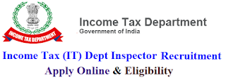 Income Tax (IT) Department Recruitment 2017 Apply Online for Stenographers / Tax Assistants / Multi Tasking Staff (MTS) Posts