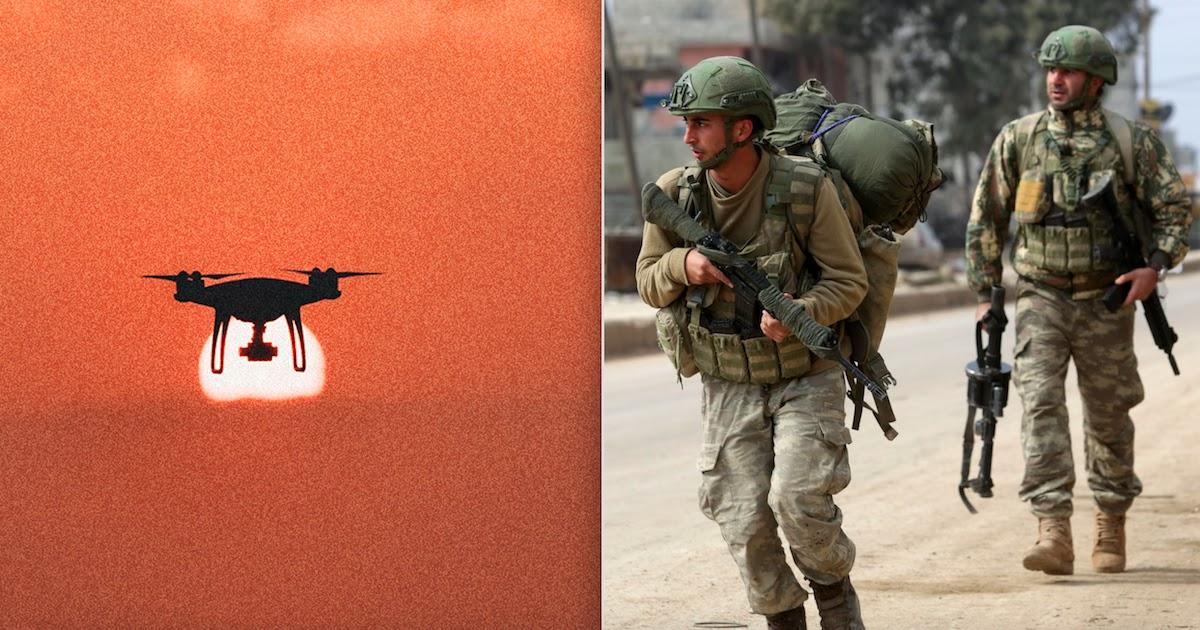 Autonomous Killer Robot Attacks Soldiers In Libya