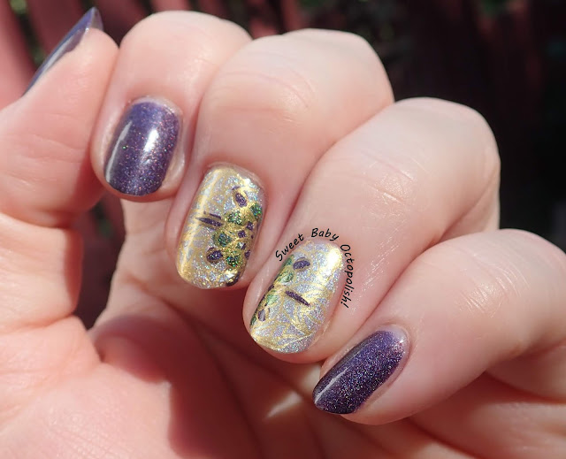 Stained Glass decal mani