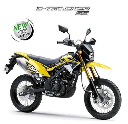 Kawasaki D - Tracker SE Kuning