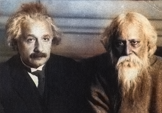 einstein and tagore conversation on truth, beauty, music and duality