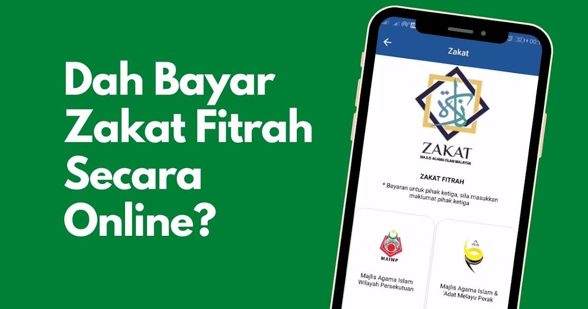 Cara Bayar Zakat Fitrah Online Negeri Johor Aku Sis Lin