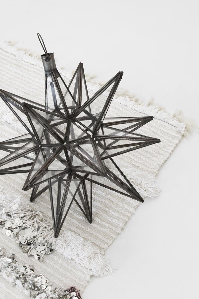 Decoración navideña con detalles étnicos y boho / Christmas decoration with ethnic and boho details