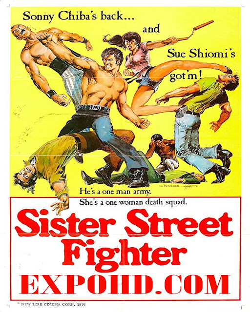 Sister Street Fighter 1974 710 Full Movie Download HD 720p | HDRip x261