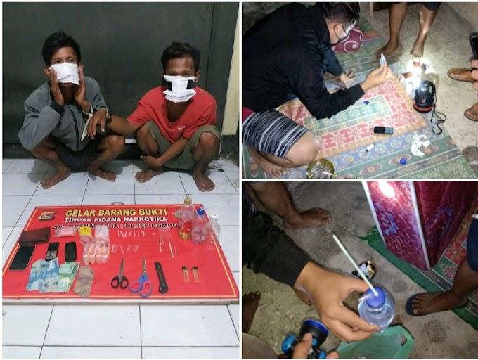 Darurat Narkoba, Polisi Ringkus 2 Orang Pemuda Di Cempi Jaya