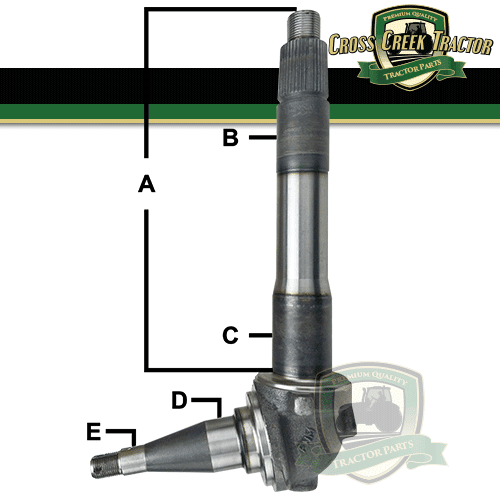 E9NN3105EB Ford Spindle RH/LH