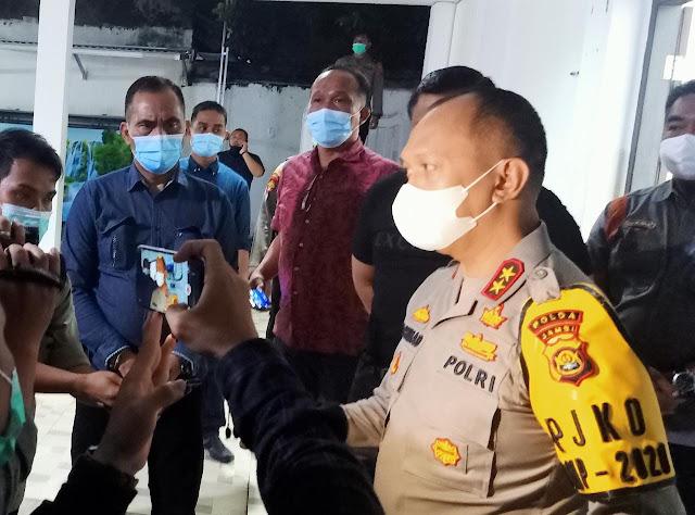 Pasca Pilkada Serentak, Kapolda Jambi Silaturahmi Bersama para Organisasi Mahasiswa