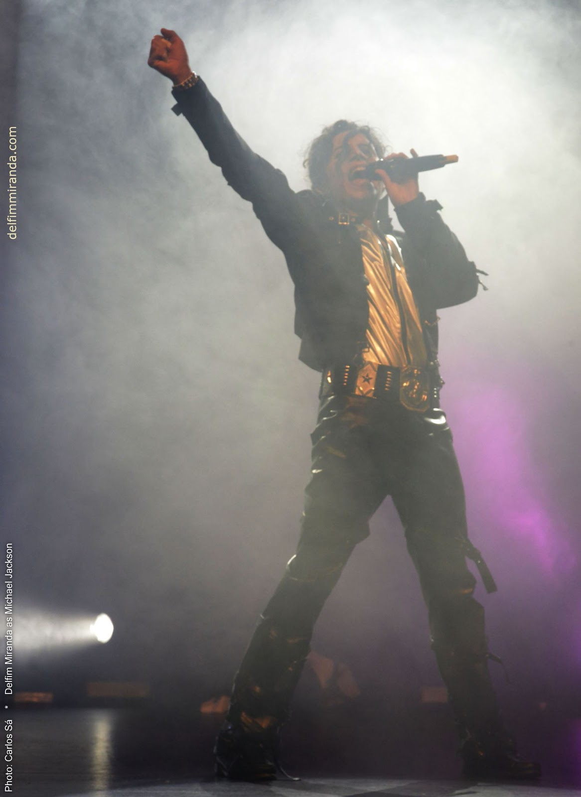 Delfim Miranda - Michael Jackson Tribute - Bad - Live on Stage