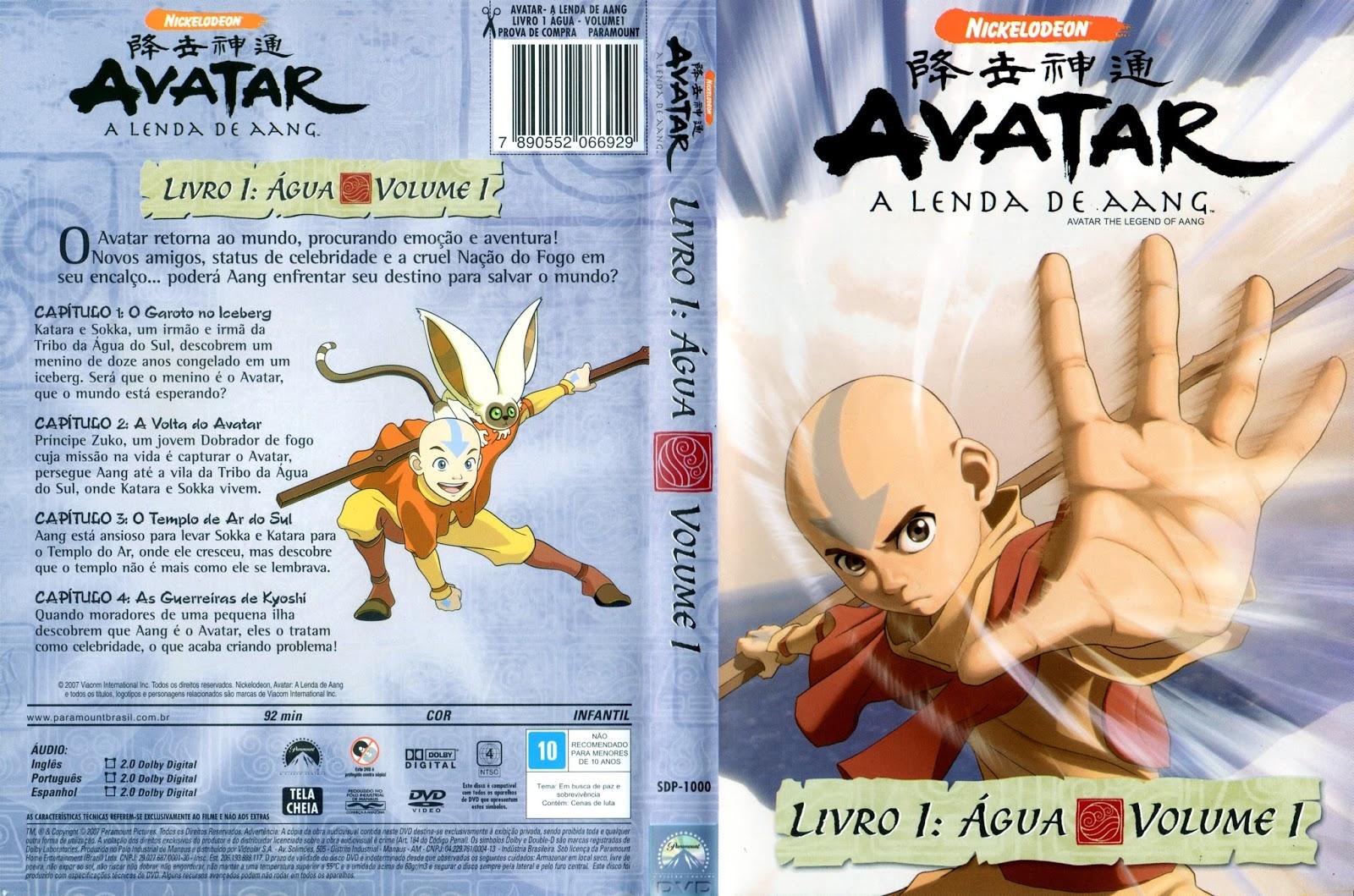 Avatar A Lenda De Aang Dublado Online Central De Animes