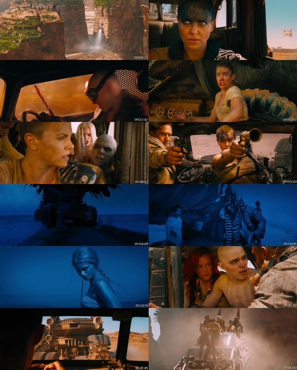 Mad Max: Fury Road 2015 BRRip 720p ESub [Hindi-English]