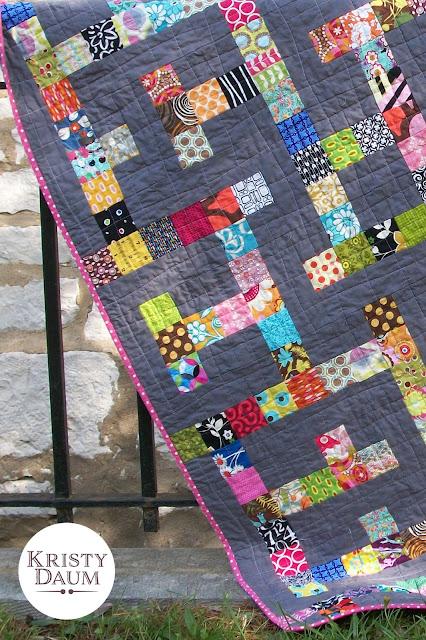 MAZED Quilt Pattern - Kristy Daum