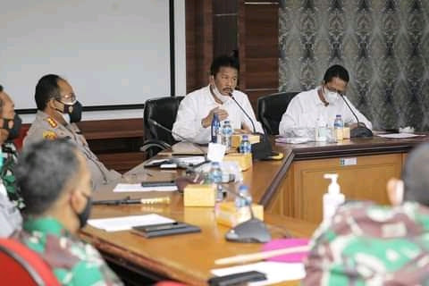 Wali Kota Batam Muhammad Rudi : Forkompinda Kota Batam sepakat untuk memperketat protokol kesehatan