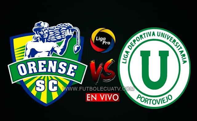 Orense y Liga de Portoviejo chocan en vivo desde las 14h45 horario local, continuando la jornada seis del campeonato doméstico, siendo emitido por GolTV Ecuador a jugarse en el reducto Nueve de Mayo con arbitraje principal de Luis Quiroz.