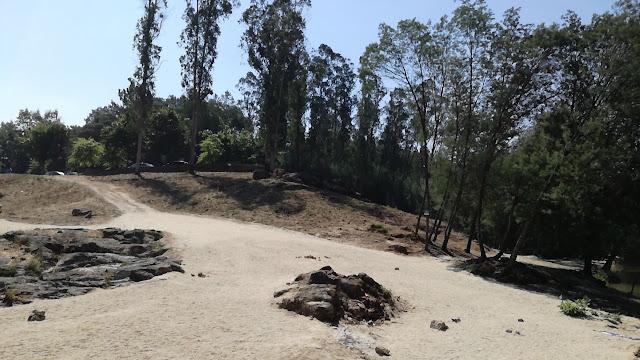Acesso á Zona Fluvial da Praia de Verim