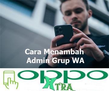 Cara Menambah Admin Grup WA