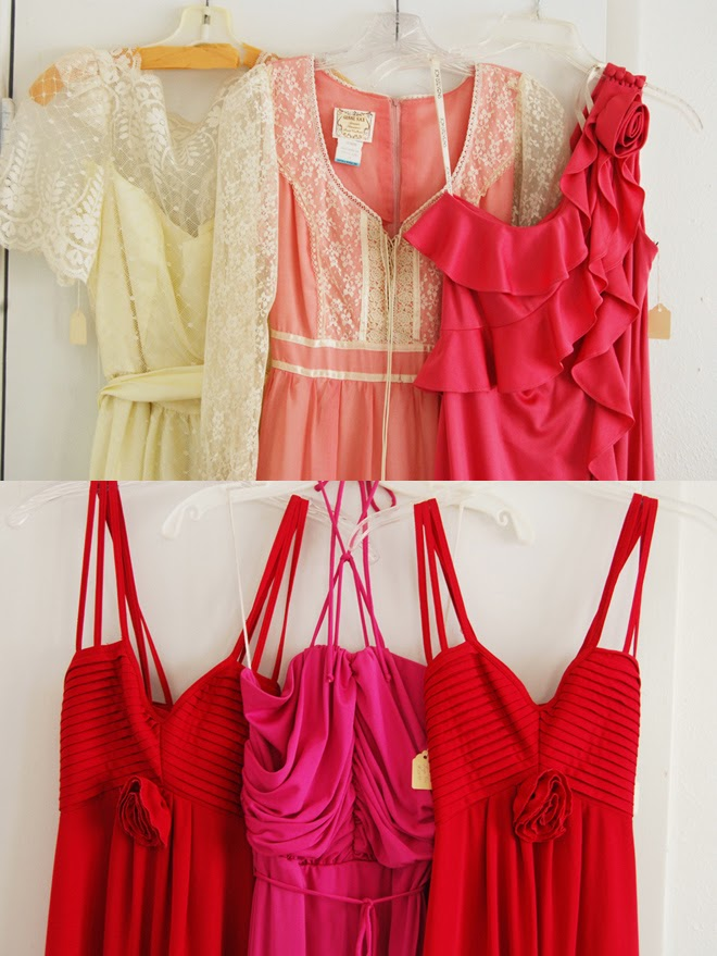 jessamity 1970s deadstock formal dresses