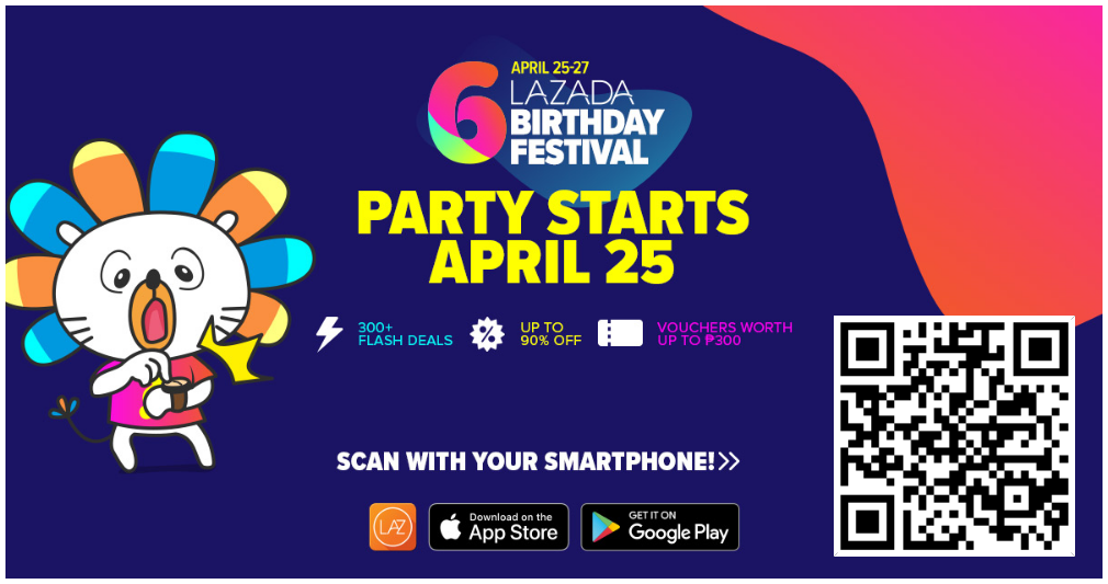 Amazing Deals On Lazada 6th Birthday Festival