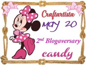 2nd Blogaversary candy