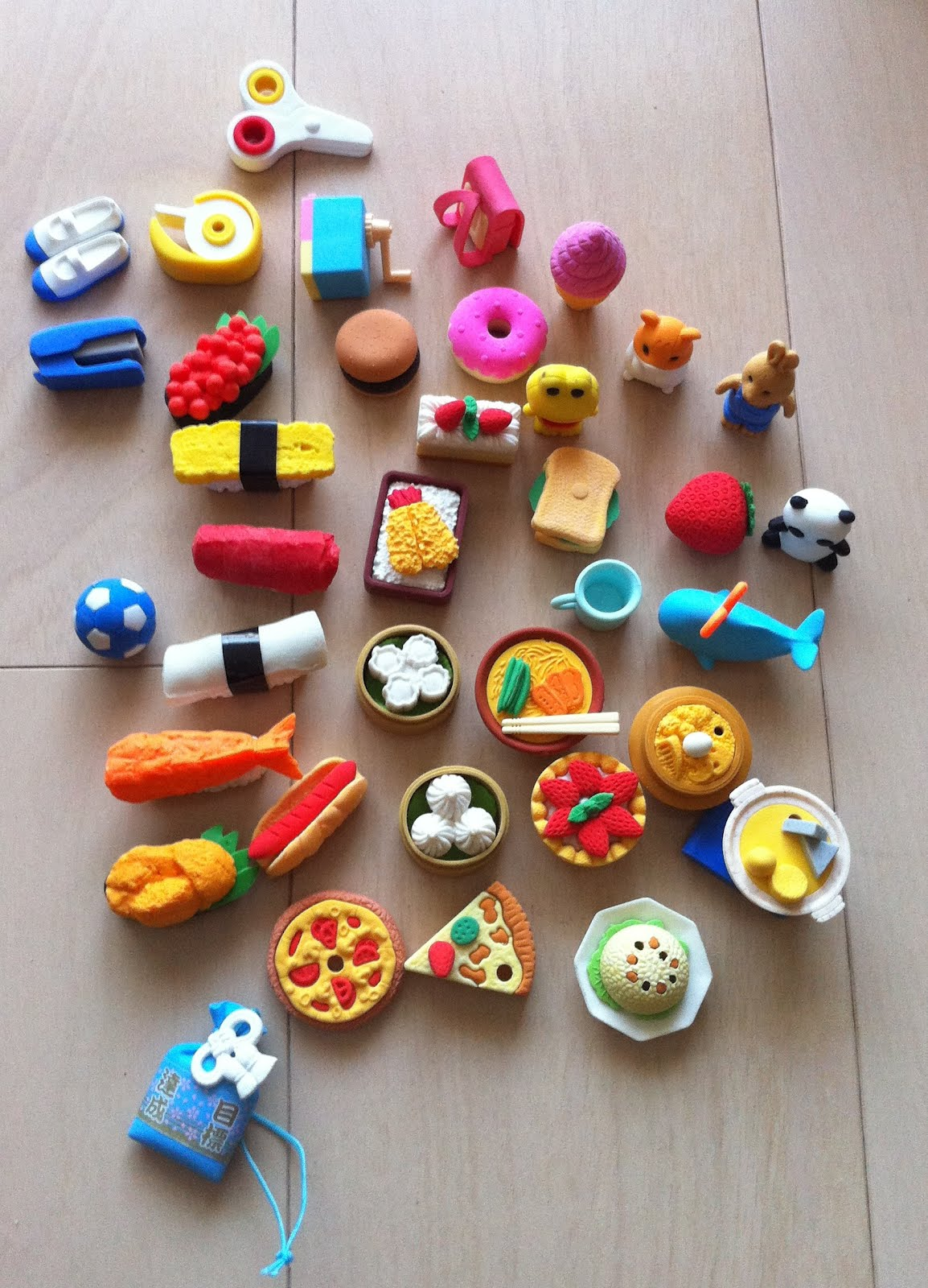 The Plastic Rubbers In Above Picture Are Some Of Many That My Daughter Has They Are So Well Made And It Is Pity To Rub Off Something With Them