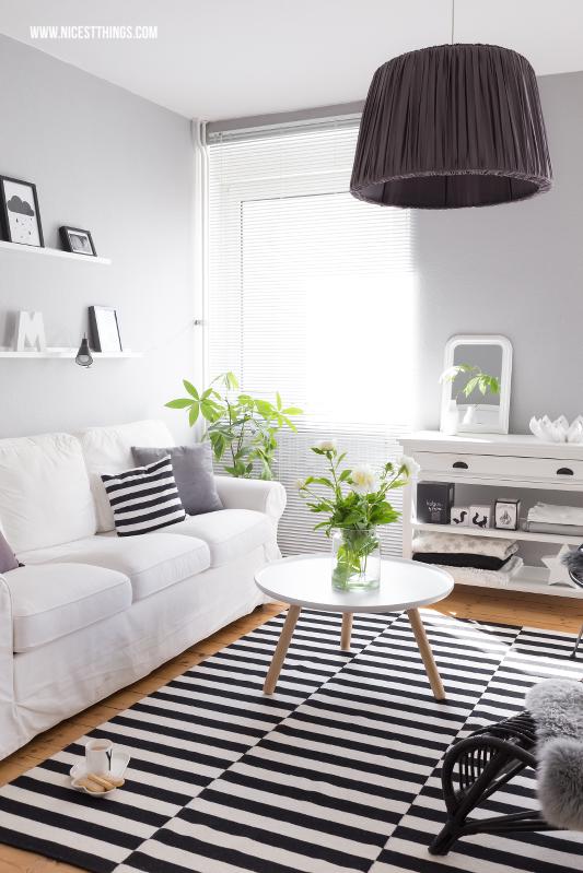 Tipps für ein schönes Zuhause Wohnzimmer #wohnzimmer #tinekhome #blogger #interior #skandi