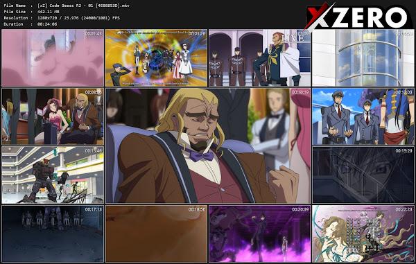 Capturas de Code Geass: Hangyaku no Lelouch R2