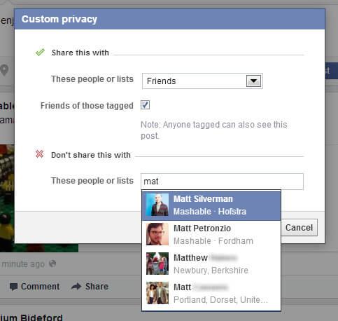 منع احد الاشخاص ,فيس بوك,الغاز فيس بوك