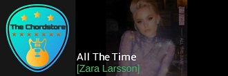 Zara Larsson - ALL THE TIME Guitar Chords (Noonie Bao) |