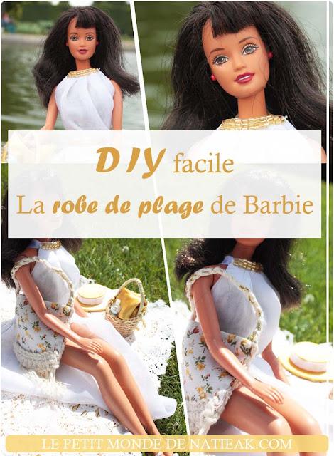 Tutoriel: la robe de plage pour Barbie