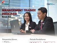 INFO LOWONGAN BUMN : MANAGEMENT TRAINEE PT RAJAWALI NUSANTARA INDONESIA (PERSERO)