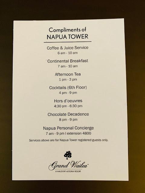 Grand Wailea Napua Club
