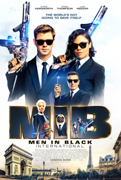 Men in Black: International (2019) Hindi HDRip (HC) | Dual-Audio