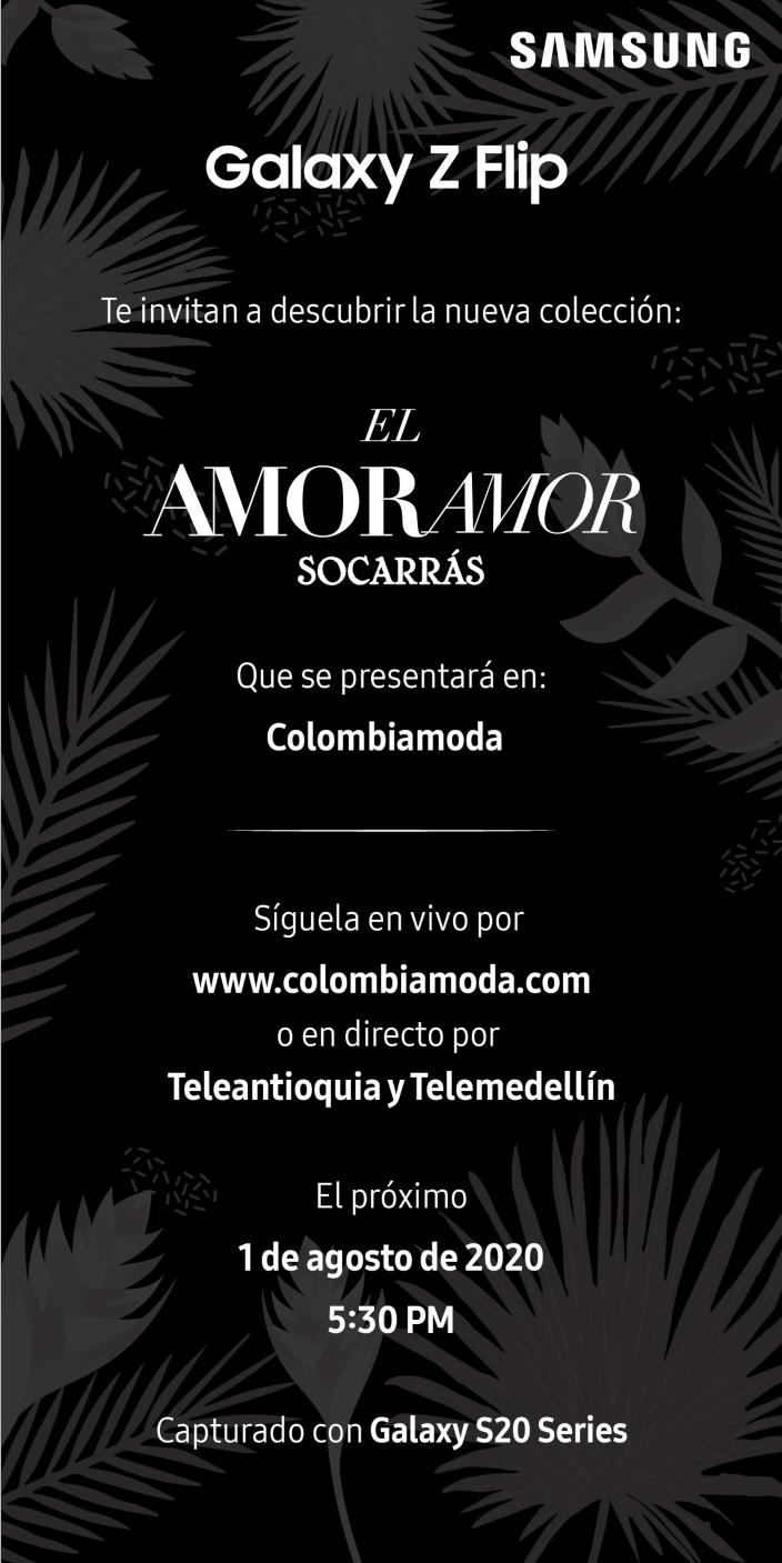 """Socarrás presenta su colección """"El amor amor"""""""