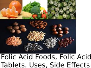 Folic Acid Foods.