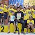 Exemplo de superação, paratleta Juju Runner visita crianças da LBV