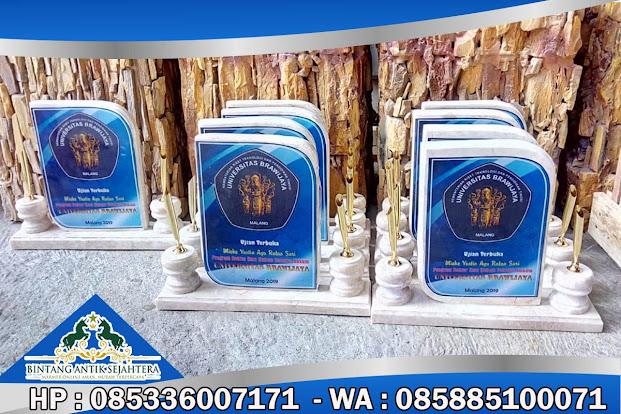 Vandel Perpisahan, Vandel Plakat Kenang-Kenangan, Produk Vandel Marmer