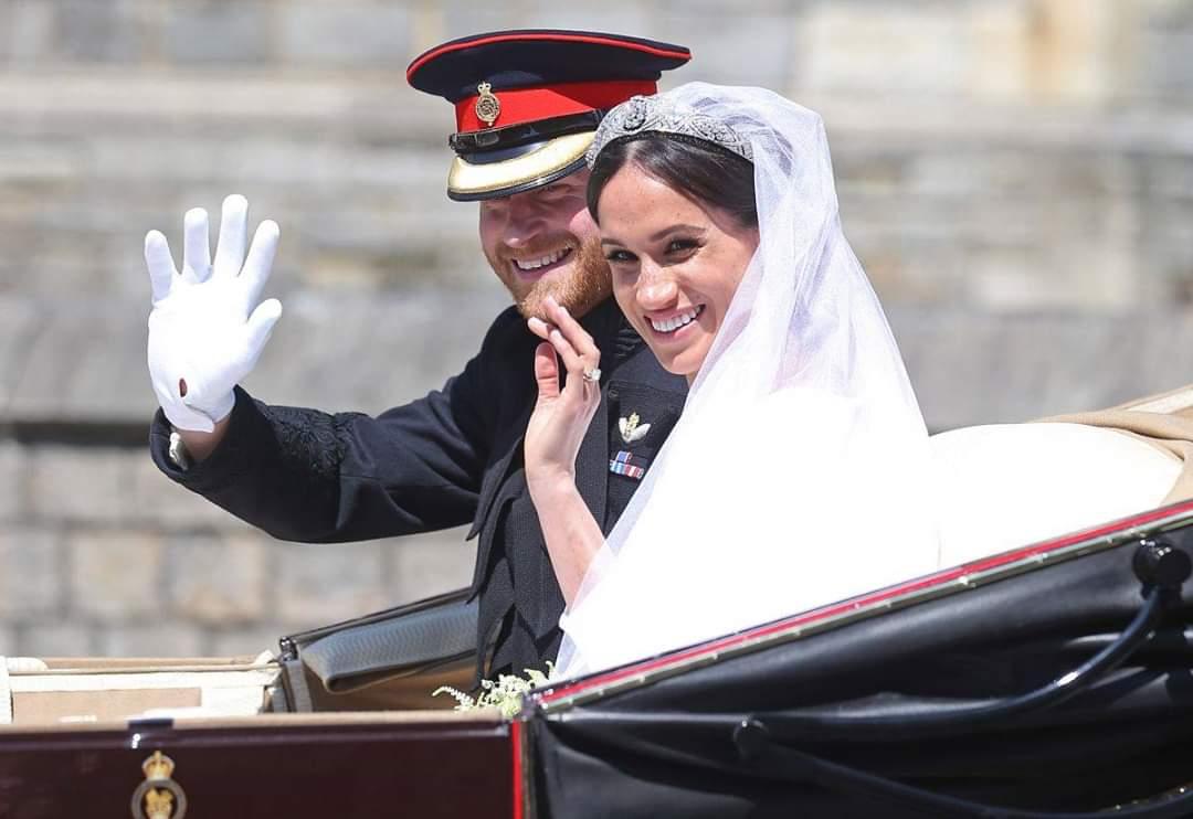 Prince Harry and Meghan Markle drop royal titles