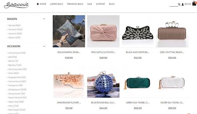 Dapatkan Koleksi Clutch, Purse dan Clear & Jelly Bags di BAGINNING.com