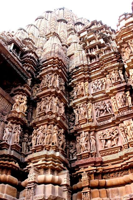 The Scultptures Of Khajuraho Temples, Madhya Pradesh