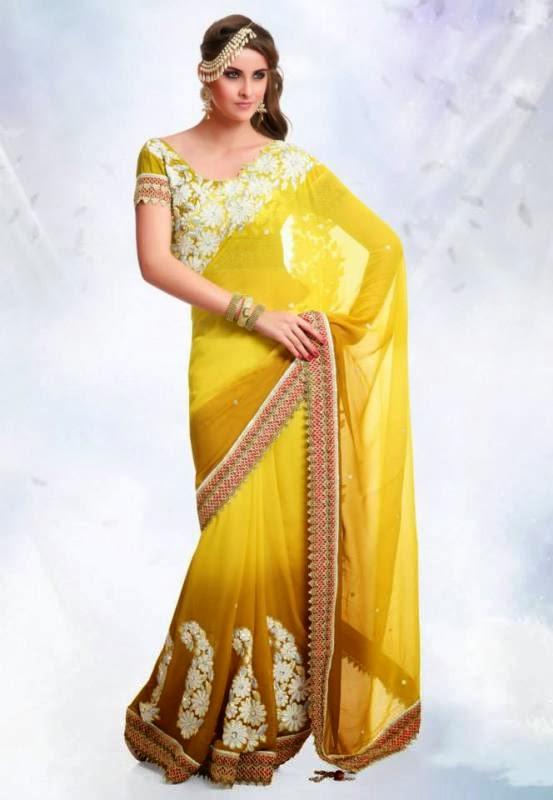 Best 10 Beautiful Indian Saree Latest Designs 2014