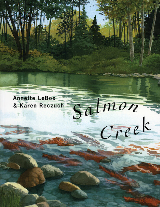 Ideas and Freebies for a 1st Grade Salmon Unit: Salmon Books, Salmon Mural, Lifecycle Wheel, Salmon Art. By GradeONEderful.com