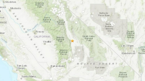 After Mexico, there is a 5.8 Magnitude earthquake in California