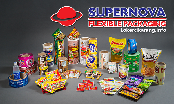Lowongan Kerja PT Supernova Flexible Packaging Agustus 2018