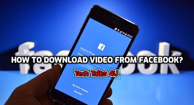 How to download videos from Facebook?  #TechTalks