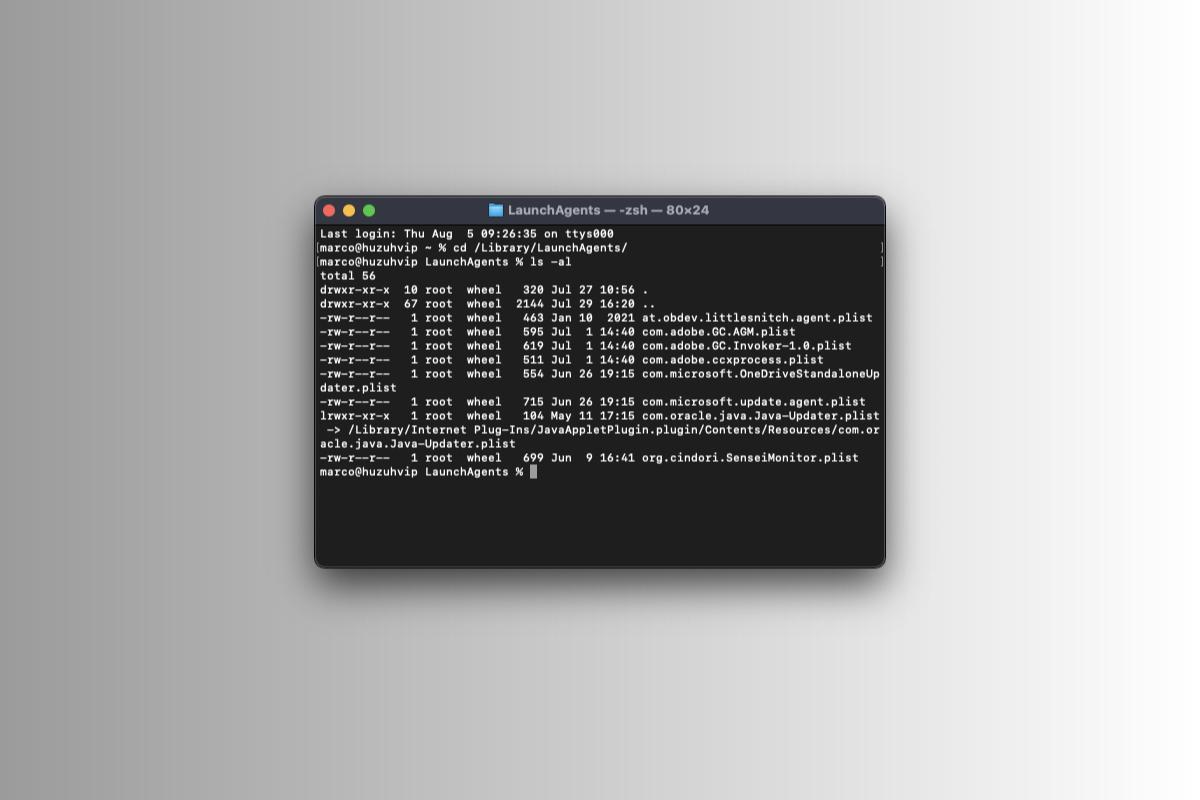 Come rimuovere processi all'avvio in macOS