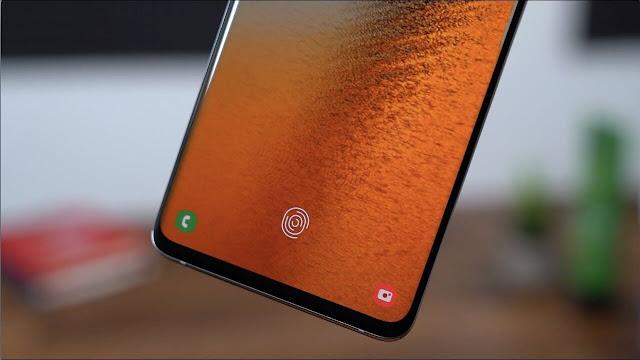 سامسونغ تطرح  إصلاح أمان بصمات الأصابع لجهاز Galaxy S10 و Note 10