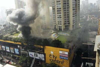 City center fire