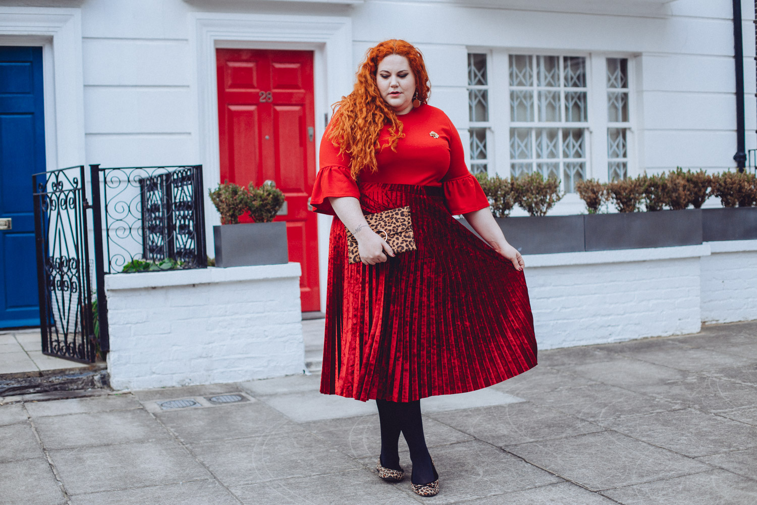 b2de172edae Red or Dead  A Plus Size Look feat M S and ASOS